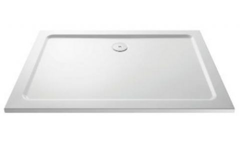 Ultra Pearlstone 1400mm x 800mm Rectangular Shower Tray